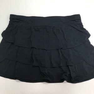 Ideology Black Stretch Tennis Skirt Plus Size 3X
